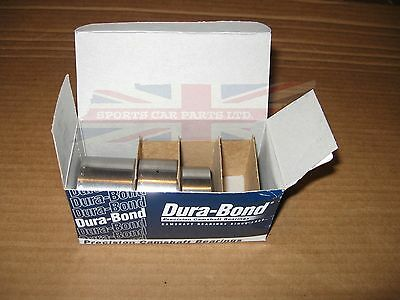New MGA MGB Cam Bearings Camshaft Bearing Durabond Dura-Bond 1955-80