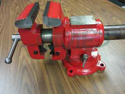 """4"""" Multi-purpose Rotating Bench Vise, HEAVY DUTY #850-RT4-red-new"""