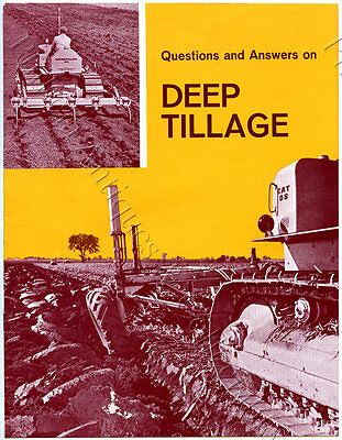1960's Questions And Answers Booklet Caterpillar Diesel Tractors D4/d8 U39