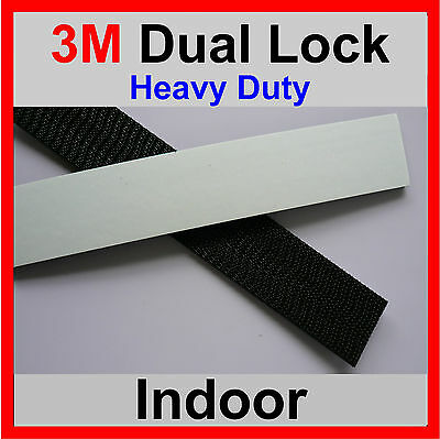 3M DUAL LOCK TAPE 5 X STRONGER THAN HOOK  LOOP ADHESIVE  320mm x 25mm