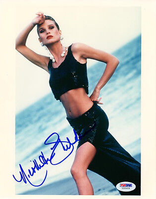 NICOLLETTE SHERIDAN SIGNED AUTOGRAPHED 8x10 PHOTO DESPERATE HOUSEWIVES PSA/DNA