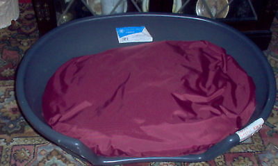 waterproof 32/22inch oval dog bed COVER NO INNER for your dog basket