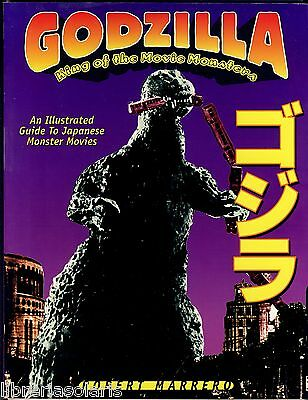 Robert Marrero GODZILLA KING OF THE MOVIE MONSTERS Fantasma Books 1996