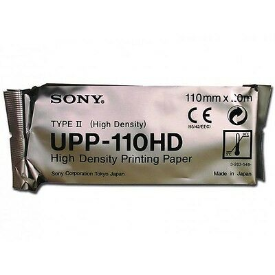 Sony UPP-110HD High Density Thermal Paper , 10 Roll Case