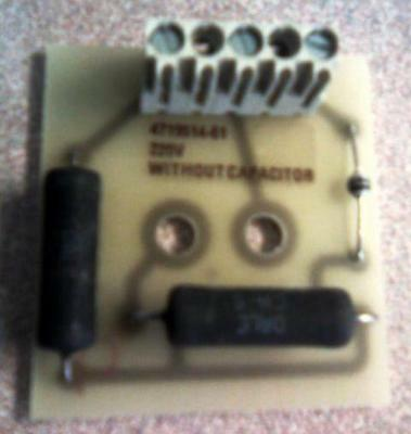 DELAY UNIT BOARD V220 for Wascomat washers