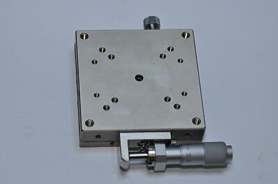MANUAL STAGE LINEAR POSITIONER 70mmX70mm Height 18mm SIGMA KOKI Order-Made