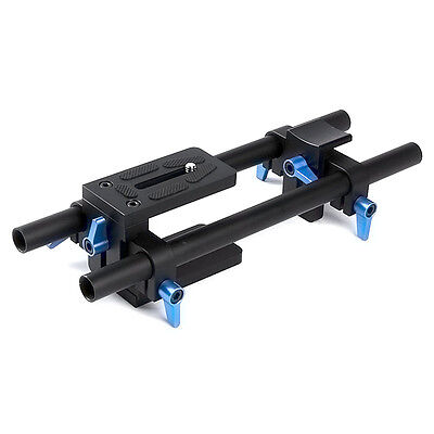 DP500 DSLR 15mm Rail Rod Support With 1/4″ Screw For Matteboxes Canon Nikon Sony
