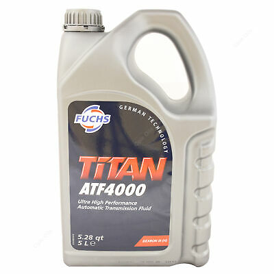 Fuchs TITAN ATF 4000 Multifunctional Automatic Transmission Fluid 5 Litres 5L