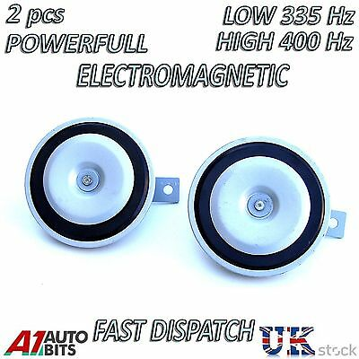 Universal replacement disc twin Horn for Ford escort fiesta focus mondeo ka 12V