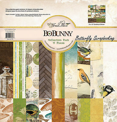 Nature Trail Mix Collection Pack 12x12 Scrapbooking Kit BoBunny 14616848 New