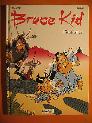 Bruce Kid Tome 1. l'initiation -Jenfevre & Suplice -éditions XIAO PAN