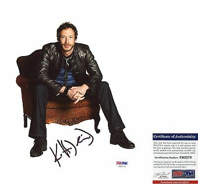 Cool Kris Holden-Ried Signed 8x10 Dyson Lost Girl PSA/DNA