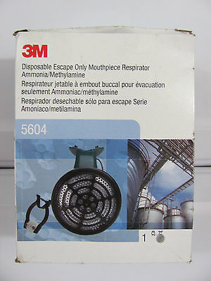 NEW 3M 5604 Emergency Escape Mouth Bit Respirator Respiratory Protection