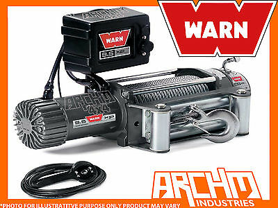 Warn 9.5Xp (6Hp Motor) Self Recovery 12 Volt Winch Suit 4X4 4Wd