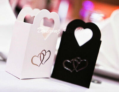 White / Black Wedding, Engagement, Anniversary, Party Cake Favour Gift Boxes 99P