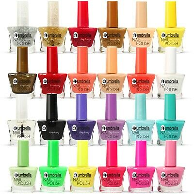24 x NAIL VARNISH POLISH SET 22+ DIFFERENT BRIGHT VIVID COLOURS THE BEST GIFT UK
