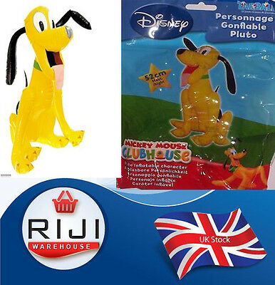 New Pluto Inflatable Dog Official Disney Character large Blow Up Kids Toy52cm