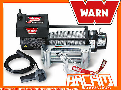"Warn ""vehicle Recovery"" Vr8000 (8000Lb, 3630Kg)12 Volt Winch"
