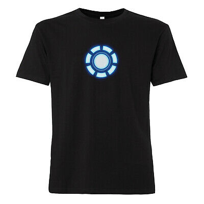 Arc Reactor - T-Shirt Iron Man Marvel Avengers Comic Kult Tony Stark Thor Kult