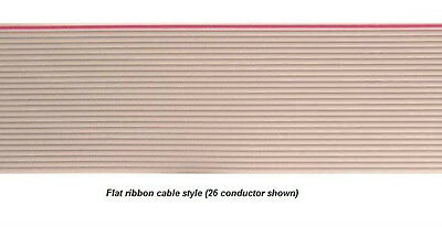RIBBON CABLE 37 conductor awm 2651 GREY BELDEN 9L28037 008 BY THE FOOT