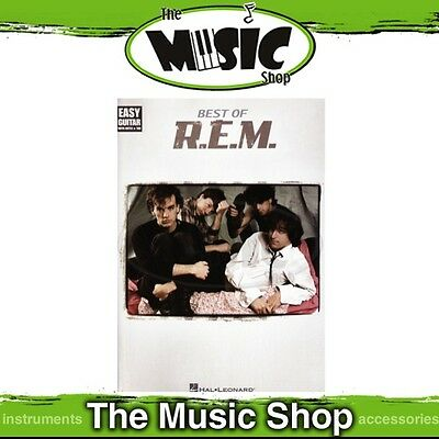 """New """"The Best of R.E.M."""" Music Book for Easy Guitar with Notes & Tablature - REM"""