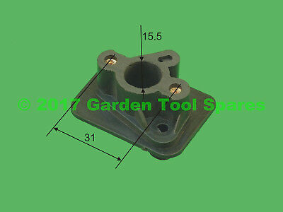 New Carburettor Carb Adaptor Spacer For Strimmer Trimmer Brush Cutter
