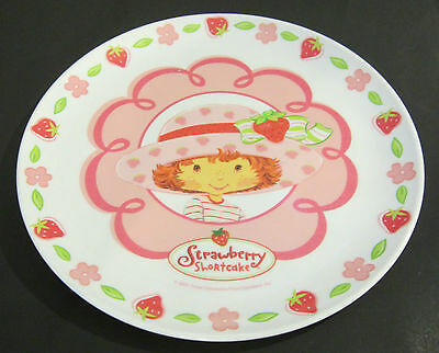 2003 THOSE CHARACTERS FROM CLEVELAND STRAWBERRY SHORTCAKE MELAMINE CHILD'S PLATE