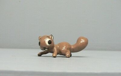 Early Hagen Renaker Squirrel with Wire in Paw