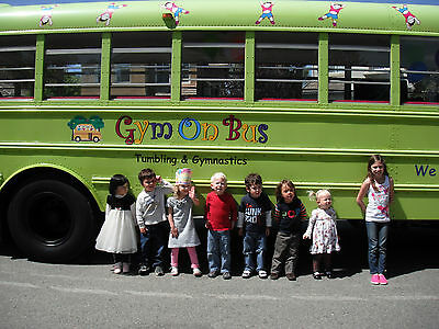 Mobile Gymnastics Bus....Own Your Own Business Working With Children!!
