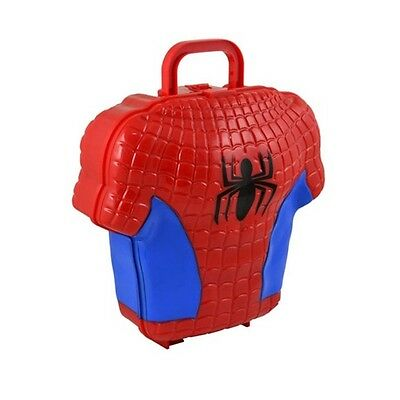 New Marvel The Amazing Spiderman Shirt Torso Lunch Box Kids Back To School