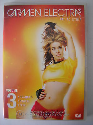 Carmen Electra ~ Fit To Strip ~ Volume 3 ~ As New Dvd