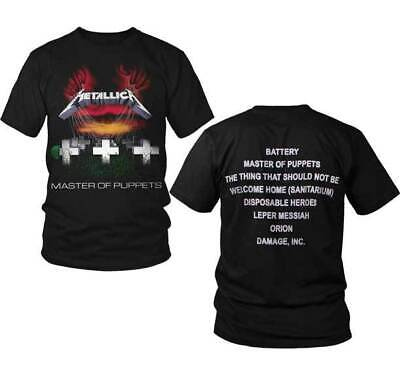 Metallica Master Of Puppets Shirt S M L XL XXL Classic Official T-Shirt New