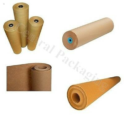 (600mm)Brown Wrapping Paper/Kraft/Strong Thick Packing Posting Rolls Wrap Pack