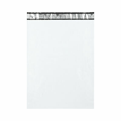 14.5 x 19 Inch White Poly Mailers Envelopes 2.5 Mil Plastic Self Seal 200 Pieces