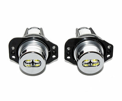 2 Ampoule Double Led Luxeon Blanc Angel Eyes Bmw Serie 3 E90 E91 2005 A 08/2008