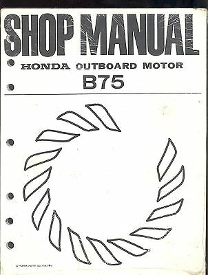 honda outboard bf20a bf25a bf30a engine full service repair manual