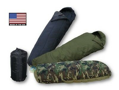 US Military 4 Piece Modular Sleep System -- MSS 4 PC Sleeping Bag - Excellent