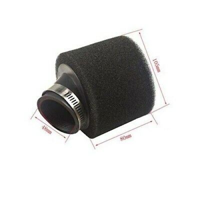 High Performance 48mm Dual Foam Pod Air Filters Motorcycle Quad Dirt Motorbikes