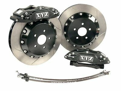 FG Black big brake upgrade kit front 6 Pot 355mm Ford Falcon XR6 XR8 XYZ