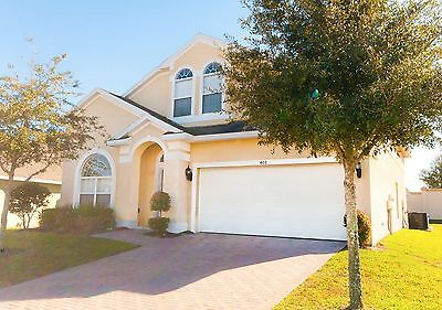 408 5 Bedroom Pool Home with spa in gated community near Disney Orlando Florida