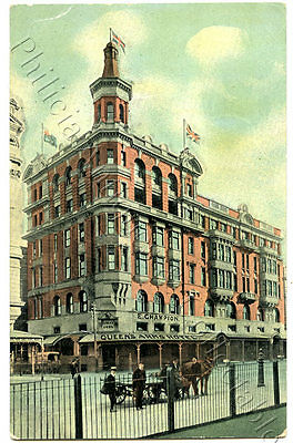 C1908 Pt Npu Postcard Queen's Arms Hotel Melbourne F W Niven Publisher Vict. X10