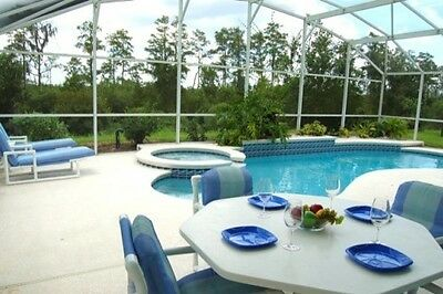 15349 3 bed vacation home with conservation view, pool, spa near Disney Orlando