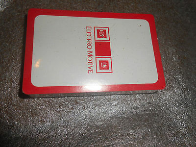 Deck of General Motors Electro Motive Railroad Playing Cards