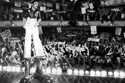 Elton John Classic Tommy On Stage Wearing Giant Shoes 24X36 Poster