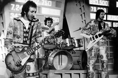 Pete Townshend Keith Moon John Entwistle Tommy 24X36 Poster With Guitars