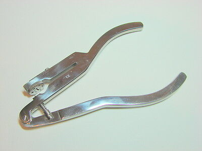 """Ivory Rubber Dam Punch 6.75"""" Dental Instruments Stainless Steel"""