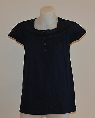 George Girls T Shirt - BLUE - Sizes 4,5,7,9,11 & 12 Years - NEW