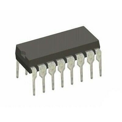 National Semiconductor 5x 74F11PC Triple 3-Input AND Gate SN74F11 IC