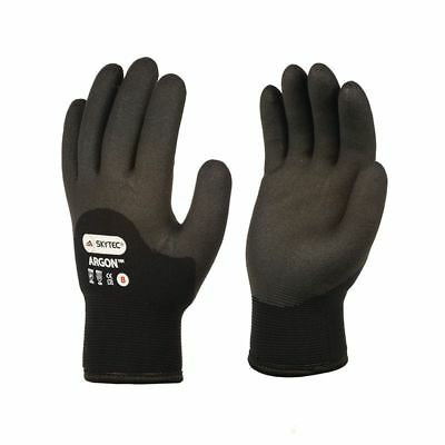 SKYTEC Argon Double Insulated Thermal HPT Foam Cold Winter Grip Work Glove