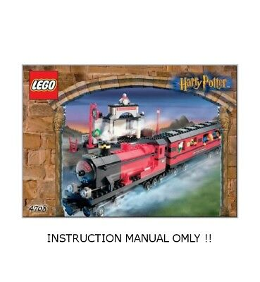 (Instructions) for LEGO HARRY POTTER - 4708 Hogwarts Express - INSTRUCTIONS ONLY